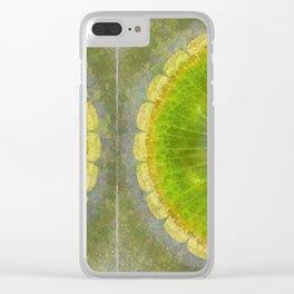 Skilligalee Au Naturel Flower  ID:16165-041435-73150 Clear iPhone Case