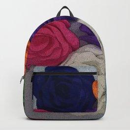 Big Rose Flowers Backpack
