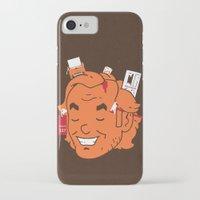 jack nicholson iPhone & iPod Cases featuring Jack by Derek Eads