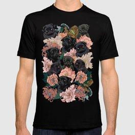 Because Black Pug T-shirt