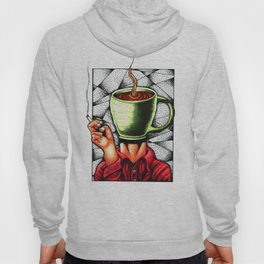 coffee head Hoody