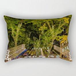 Fall Night in Boston, MA Rectangular Pillow