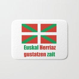 Flag of Euskal Herria 4 Bath Mat