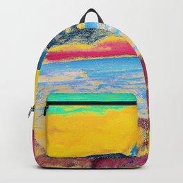 Alexej von Jawlensky - Landscape, Lake Geneva - Digital Remastered Edition Backpack