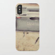 VIntage Polaroid SX-70 iPhone X Slim Case