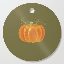 Pumpkin Cutting Board
