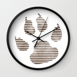 Paw Wall Clock