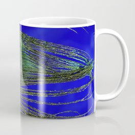 Peacock Feather Macro Coffee Mug