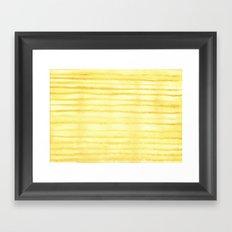 #30. NATALIA - Stripes Framed Art Print