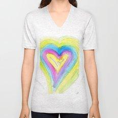 Spring Heart Unisex V-Neck