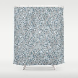 Floral lace Shower Curtain