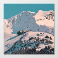 Mt. Alyeska Ski Resort - Alaska Canvas Print