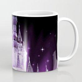 Enchanted Castle Purple Lavender Coffee Mug