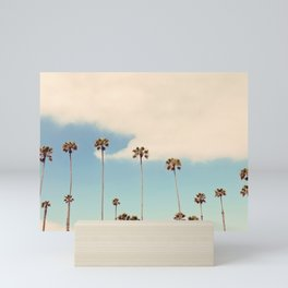 Palm trees Mini Art Print