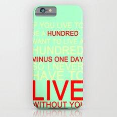 quotes Slim Case iPhone 6s