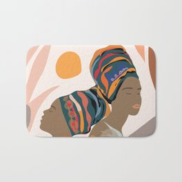 Women with the Turbans Bath Mat