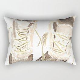 Worn Winter Boots (New England Classic) Rectangular Pillow