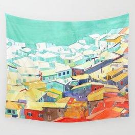 Summer in Malcesine Wall Tapestry