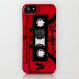 Thriller The Tape iPhone Case