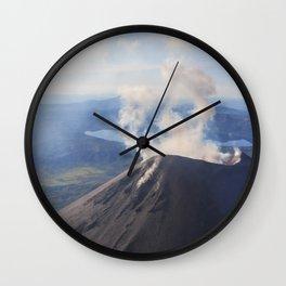 Karymsky Volcano Wall Clock