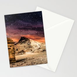 Deep Midwinter Stationery Cards