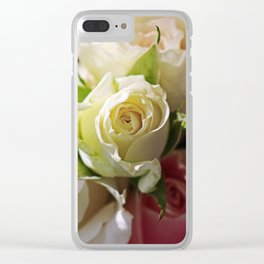 Blaze of Romance Clear iPhone Case