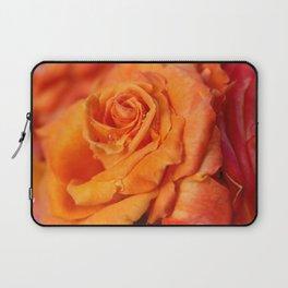 Tangerine Rose Laptop Sleeve