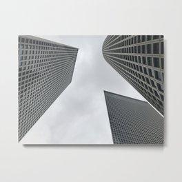 Reaching the sky Metal Print