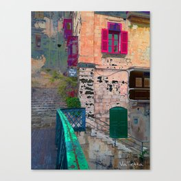 bridge bar valletta Canvas Print