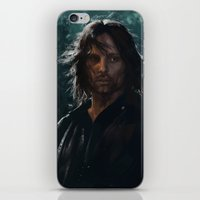 gondor iPhone & iPod Skins featuring King of Gondor and Arnor by hart-coco