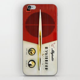 My Grand Father Classic Old vintage Radio iPhone Skin