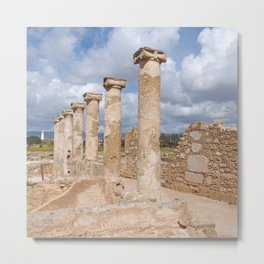 The house of Theseus - Paphos Cyprus Metal Print