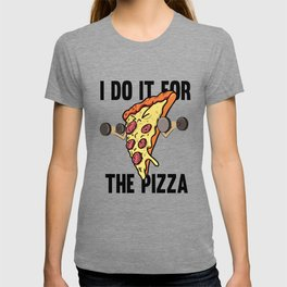 Fitness Pizza Sports Fast Food Diet funny gift T-shirt