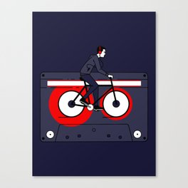 Welcome to Your Tape Canvas Print