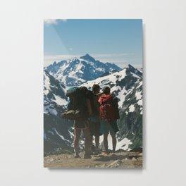A Friendly Landscape Metal Print