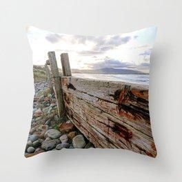 Strand Hill, Sligo Throw Pillow