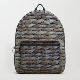 Earthy reeds woven Backpack