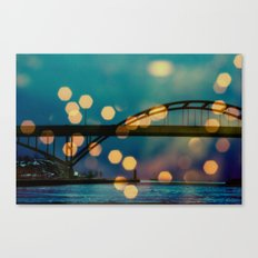 Hoan Bridge Canvas Print