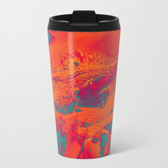 Alpha Metal Travel Mug
