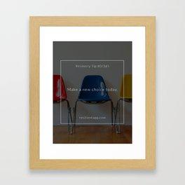 Recovery Tip #80 Framed Art Print