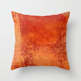 Sotto un Sole Intenso Throw Pillow