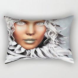 Burning Chill Rectangular Pillow