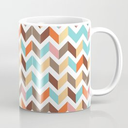 earthly chevron Coffee Mug