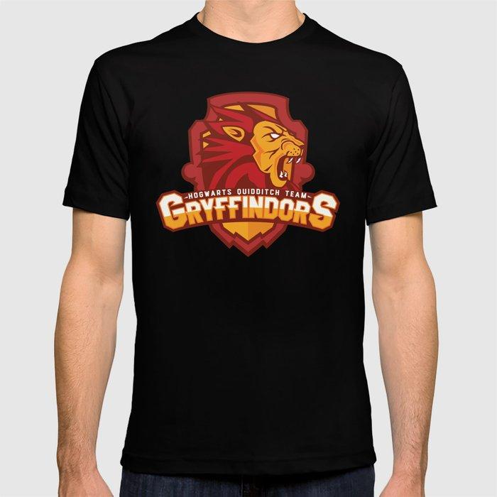 Hogwarts Quidditch Teams - Gryffindor T-shirt