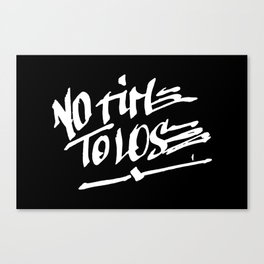 NO TIME TO LOSE Canvas Print