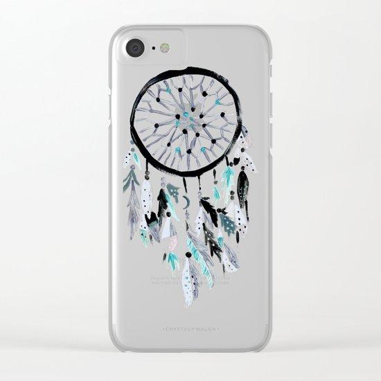 Solstice Dream Catcher Clear iPhone Case