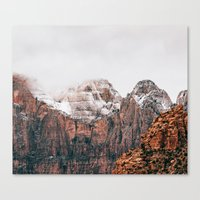 Canvas Prints featuring Misty Adventure #society6 by cadinera