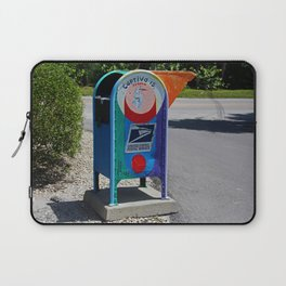 Captiva Island Mailbox- horizontal Laptop Sleeve