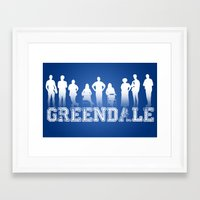 community Framed Art Prints featuring Community - Greendale Community College by Jackdoc