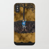 book cover iPhone & iPod Cases featuring Book Cover Illustration by Conceptualized